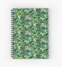 Real Live British Holly Spiral Notebook