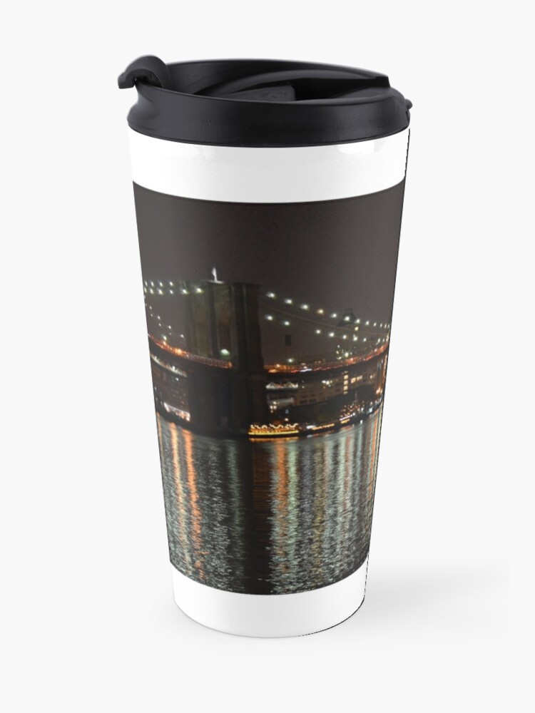 Alternate view of Brooklyn Watch Tower Travel Mug