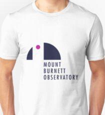 Mount Burnett Observatory Logo Unisex T-Shirt