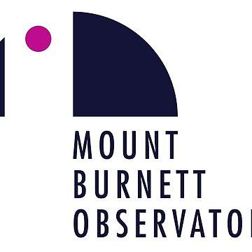 Mount Burnett Observatory Logo by MBObservatory