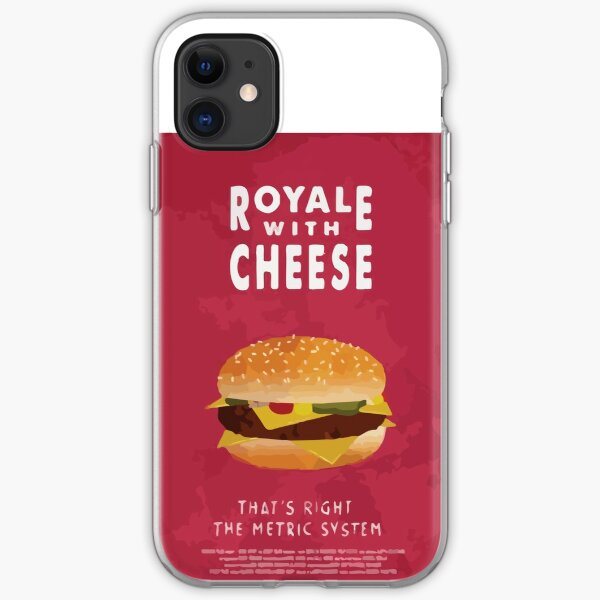 Pulp Cheese iPhone Soft Case