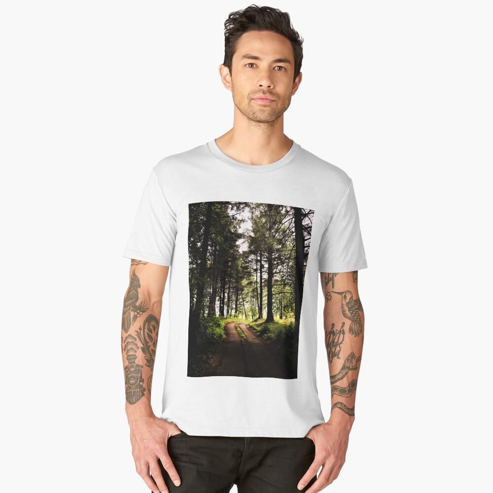 Into The Trees Men's Premium T-Shirt Front