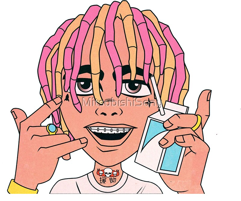 27779176 Lil Pump on Bape Cartoon Wallpaper