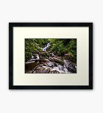 Torc Waterfall, Cloghereen Upper, Killarney, Co. Kerry, Ireland Framed Print