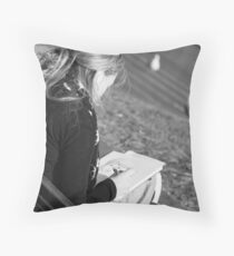 The Sketch Throw Pillow