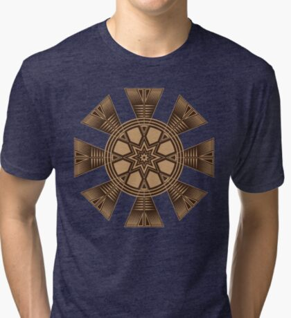 Vintage Native American Gathering Tri-blend T-Shirt