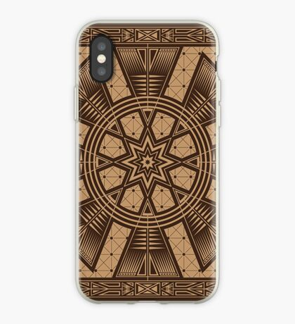 Vintage Native American Gathering iPhone Case