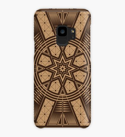 Vintage Native American Gathering Case/Skin for Samsung Galaxy