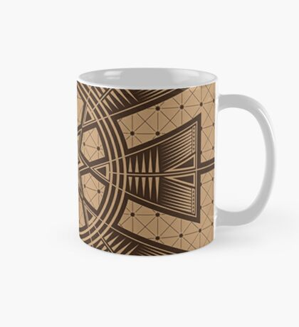 Vintage Native American Gathering Mug