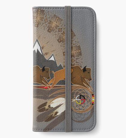Buffalo People iPhone Wallet