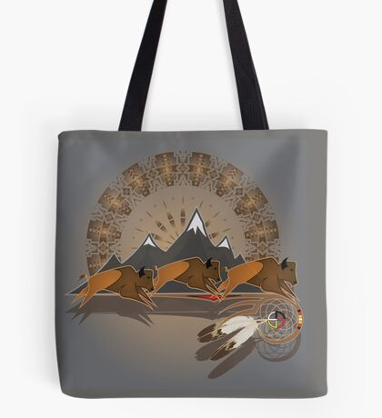 Buffalo People Tote Bag
