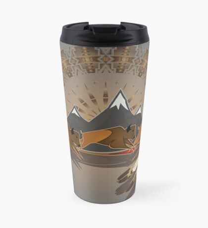 Buffalo People Travel Mug