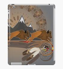 Buffalo People iPad Case/Skin
