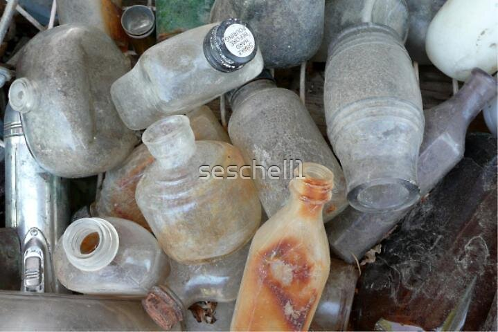 Old Bottles by seschell1