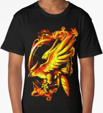 catching fire Long T-Shirt