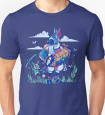 Play the Ancient Song Kass BotW Slim Fit T-Shirt