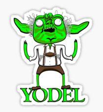 YODEL Sticker