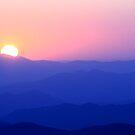 Mountain Sunset II by Gary L   Suddath