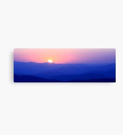 Mountain Sunset II Canvas Print