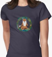 Fox Yoga Women's Fitted T-Shirt