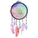 Watercolor Dreamcatcher by PrettyDesign