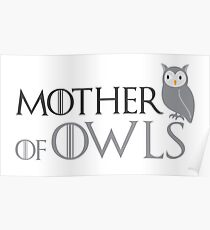 Mother of owls Poster