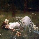 Ophelia  by Irene  Burdell
