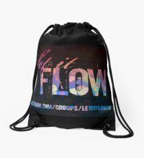 Let It Flow - Design #1 Drawstring Bag