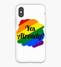 Yes already iPhone Case