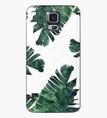 Funda/vinilo para Samsung Galaxy Banana Leaf #Watercolor Pattern #redbubble