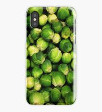 Brussels sprouts iPhone Case/Skin