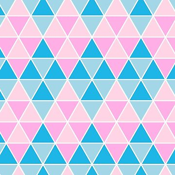 Geometric Pastel Bliss by Mangobarbecue