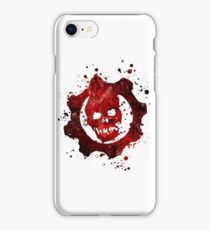 Gears of War (Lite) Splatter iPhone Case/Skin