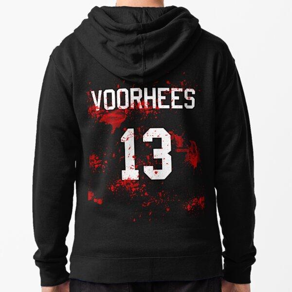 Jason Voorhees Jersey Zipped Hoodie