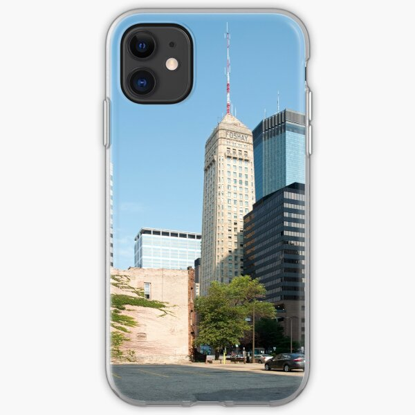 The foshay Tower, Mlps, MN iPhone Soft Case