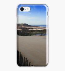 Beach at Ste., Malo iPhone Case/Skin