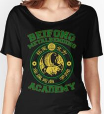 Beifong Metalbending Academy - Green & Gold Women's Relaxed Fit T-Shirt