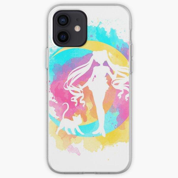 Happy Guardian Sailor Moon Funda blanda para iPhone