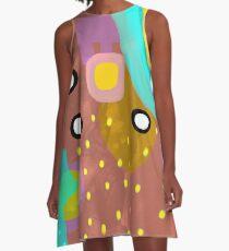 Abstract Art Fruits A-Line Dress