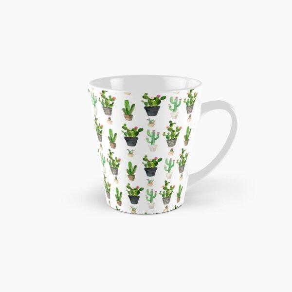 Cactus Pattern Tall Mug
