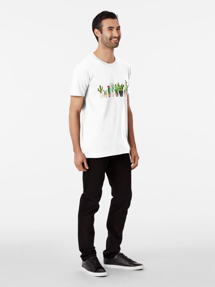 Alternate view of Cactus Premium T-Shirt