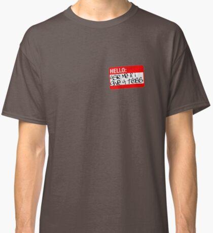 toss red Classic T-Shirt