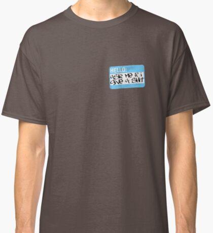 shit blue Classic T-Shirt