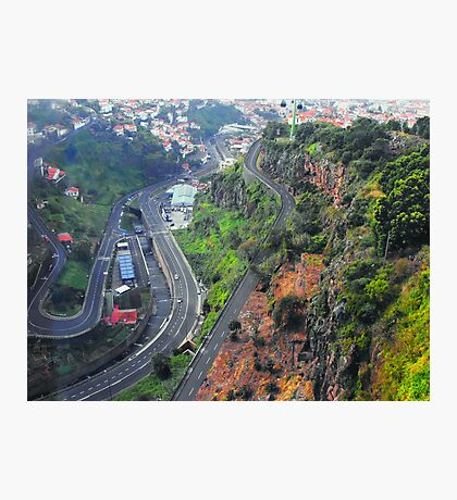Funchal Road System Photographic Print