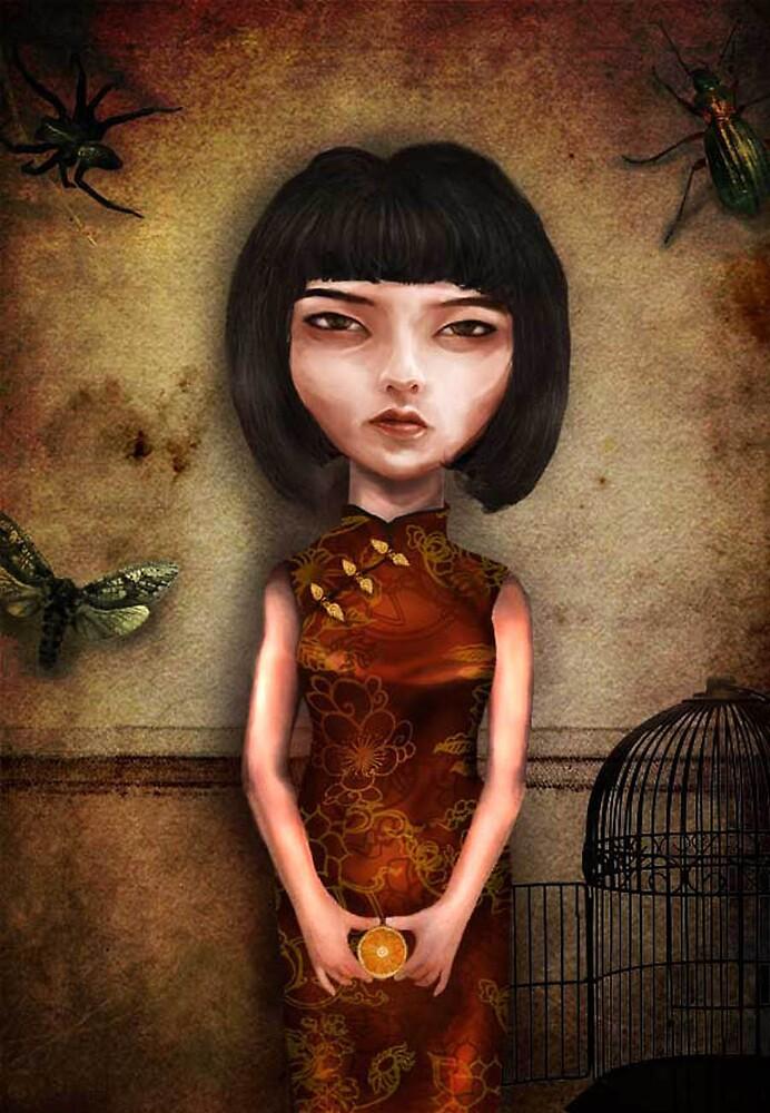 Mandarin Girl by babalisme