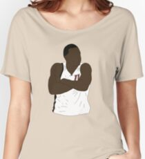 Dion Waiters Arms Crossed Women's Relaxed Fit T-Shirt