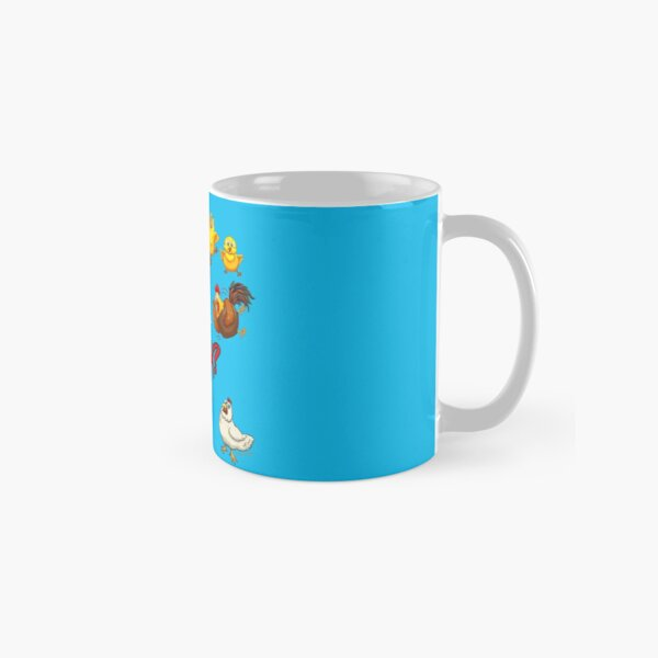 Funny Chickens - What the Cluck? Classic Mug