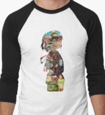 Spirited  Men's Baseball ¾ T-Shirt