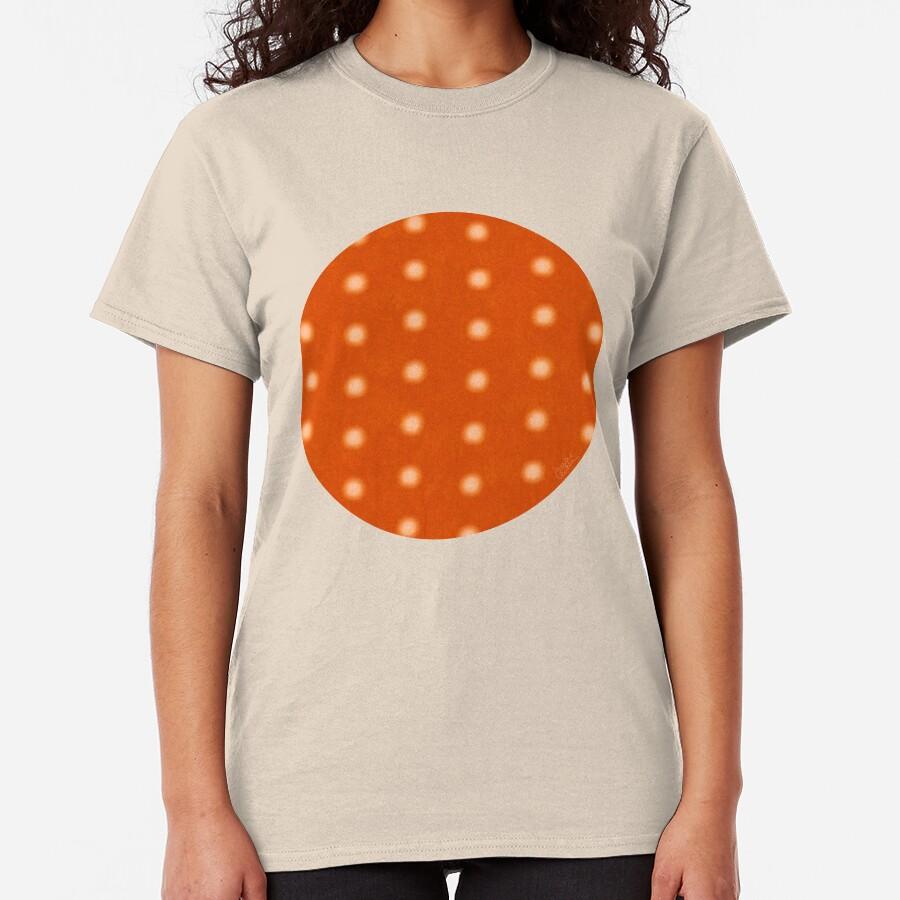 """""""Dots & Orange Cream"""" Camiseta clásica"""