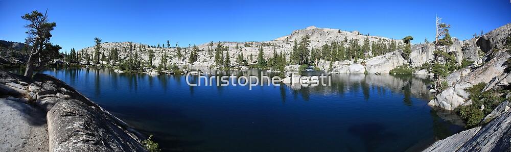 Channel Lake in Desolation Wilderness by Christophe Testi